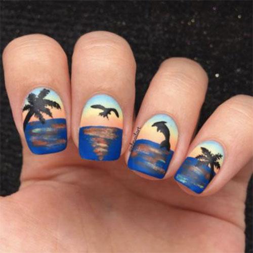 Amazing-Summer-Beach-Nail-Art-Designs-2021-5