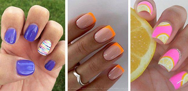 Cute Summer Gel Nail Art Designs & Ideas 2021