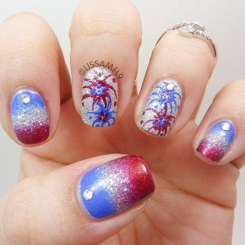 4th-of-July-Fireworks-Nail-Art-Designs-2021-2