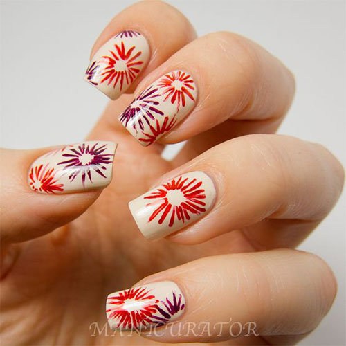 4th-of-July-Fireworks-Nail-Art-Designs-2021-7