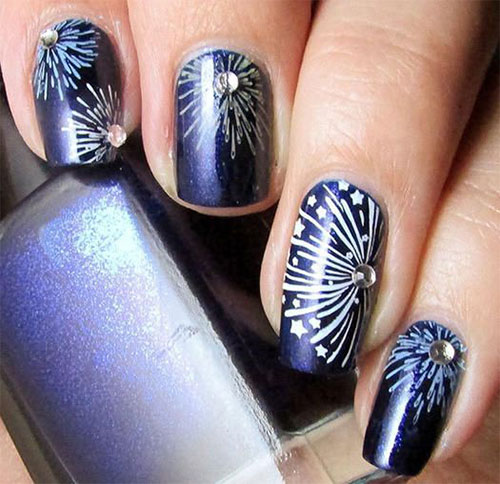 4th-of-July-Fireworks-Nail-Art-Designs-2021-9