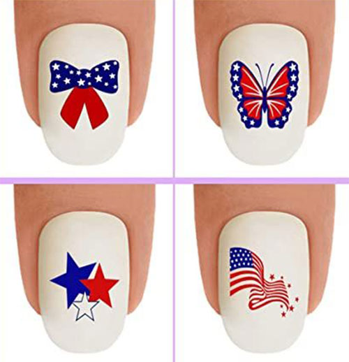 4th-of-July-Nail-Art-Stickers-Decals-2021-10