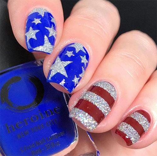 American-Flag-Nail-Art-Ideas-2021-Patriotic-Nails-1