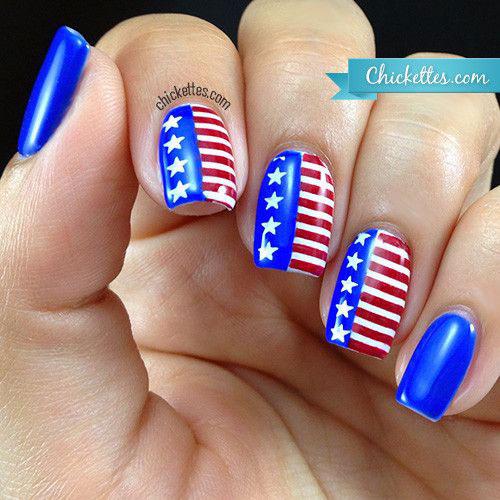American-Flag-Nail-Art-Ideas-2021-Patriotic-Nails-10