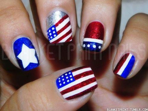 American-Flag-Nail-Art-Ideas-2021-Patriotic-Nails-11