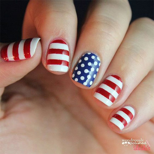 American-Flag-Nail-Art-Ideas-2021-Patriotic-Nails-12