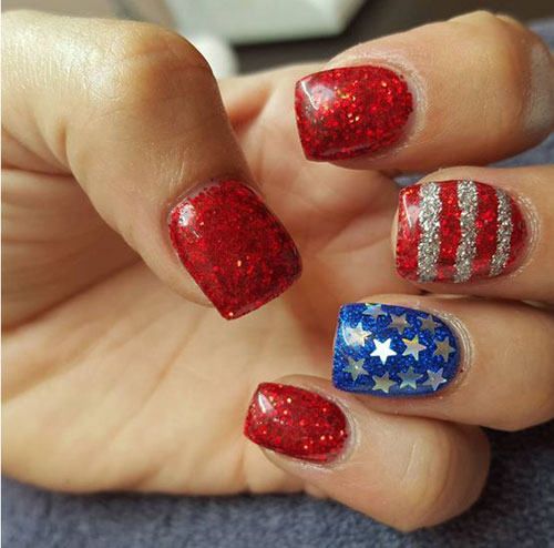 American-Flag-Nail-Art-Ideas-2021-Patriotic-Nails-13