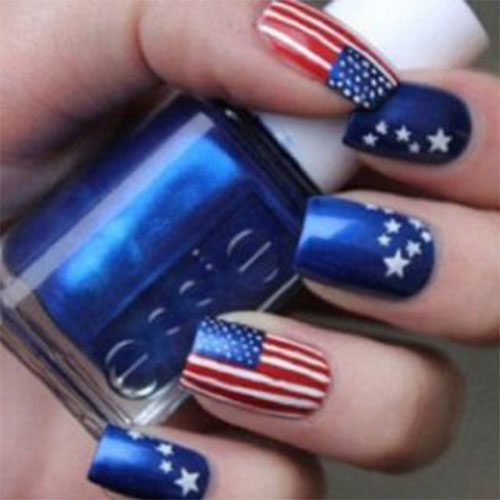 American-Flag-Nail-Art-Ideas-2021-Patriotic-Nails-15