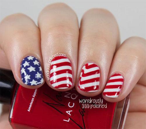 American-Flag-Nail-Art-Ideas-2021-Patriotic-Nails-3