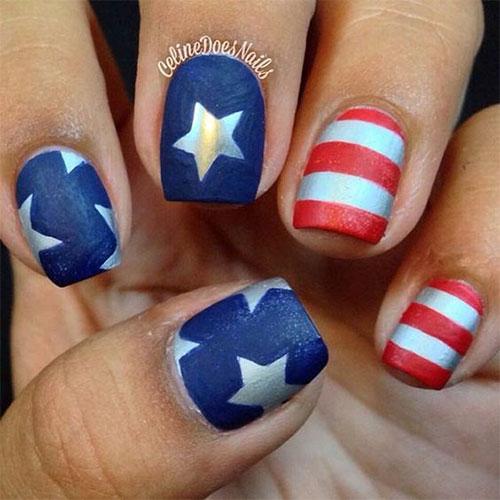 American-Flag-Nail-Art-Ideas-2021-Patriotic-Nails-4