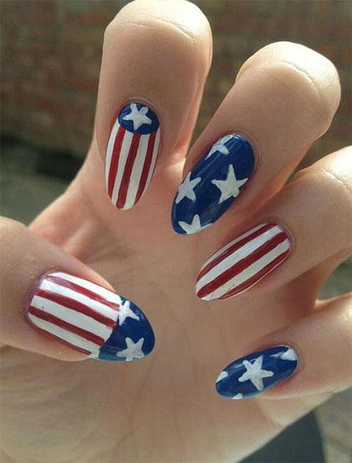 American-Flag-Nail-Art-Ideas-2021-Patriotic-Nails-5