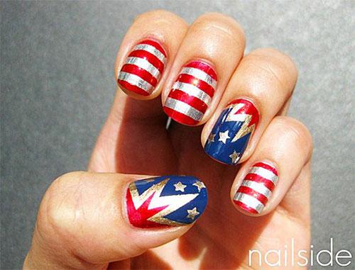 American-Flag-Nail-Art-Ideas-2021-Patriotic-Nails-6