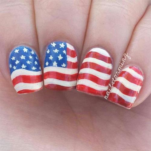 American-Flag-Nail-Art-Ideas-2021-Patriotic-Nails-8