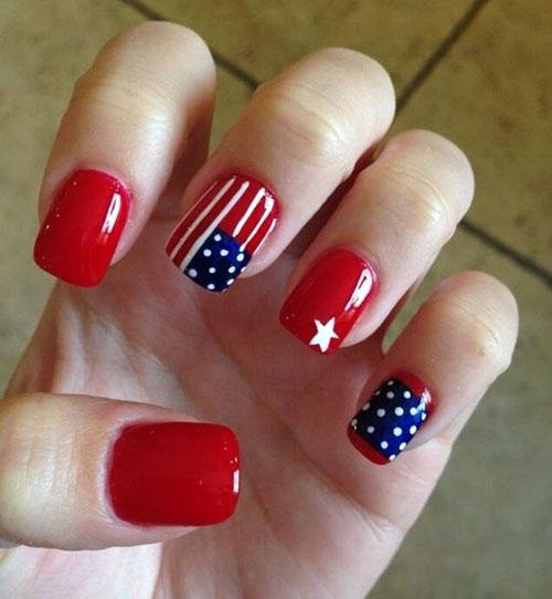 American-Flag-Nail-Art-Ideas-2021-Patriotic-Nails-9