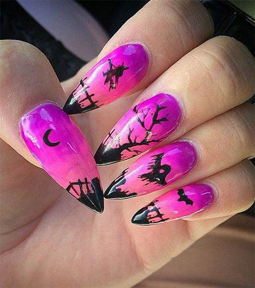 18-Halloween-Acrylic-Nail-Art-Ideas-2021-16