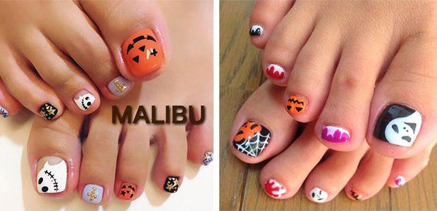 Best Halloween Toe Nail Art Ideas 2021