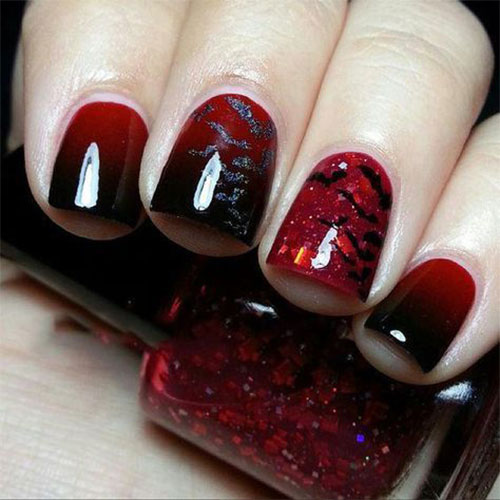 Black-White-Green-Red-Halloween-Nail-Art-2021-3