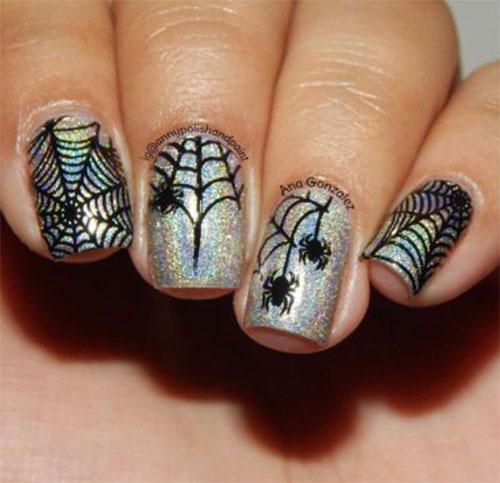 Halloween-Cobweb-Nail-Art-Designs-2021-Spider-Web-Nails-1