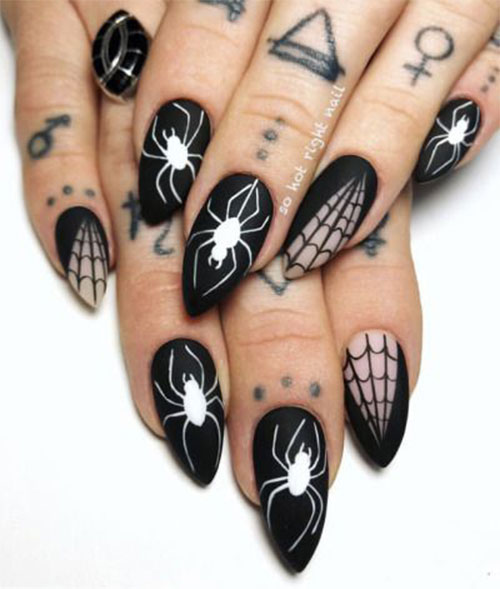 Halloween-Cobweb-Nail-Art-Designs-2021-Spider-Web-Nails-2