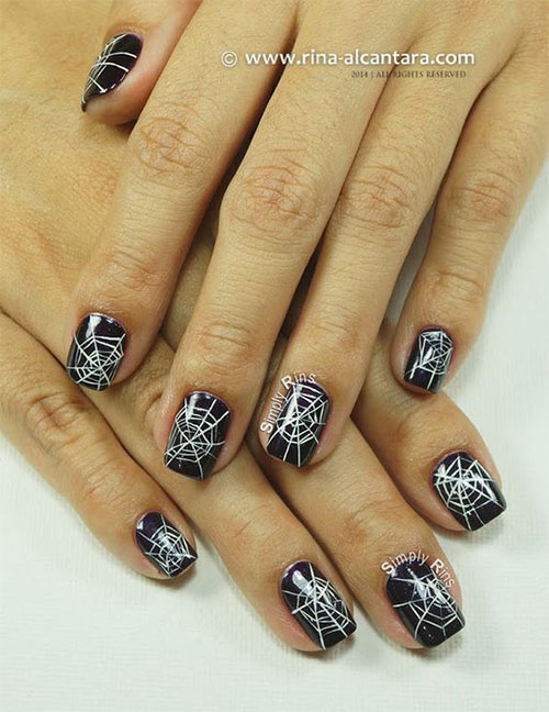 Halloween-Cobweb-Nail-Art-Designs-2021-Spider-Web-Nails-3