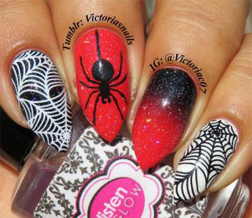 Halloween-Cobweb-Nail-Art-Designs-2021-Spider-Web-Nails-7
