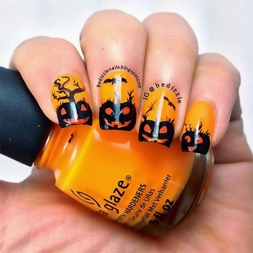 Halloween-Jack-O-Lantern-Nail-Art-2021-Halloween-Pumpkin-Nails-14