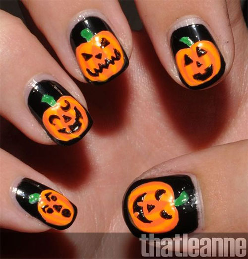 Halloween-Jack-O-Lantern-Nail-Art-2021-Halloween-Pumpkin-Nails-7