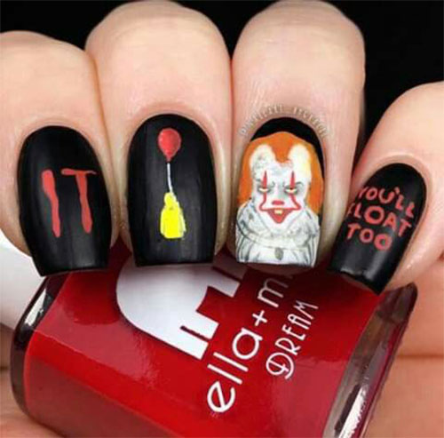 Halloween-Pennywise-Nails-2021-IT-Movie-Nail-Art-4