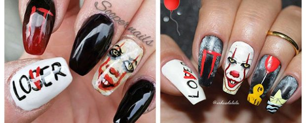 Halloween-Pennywise-Nails-2021-IT-Movie-Nail-Art-F