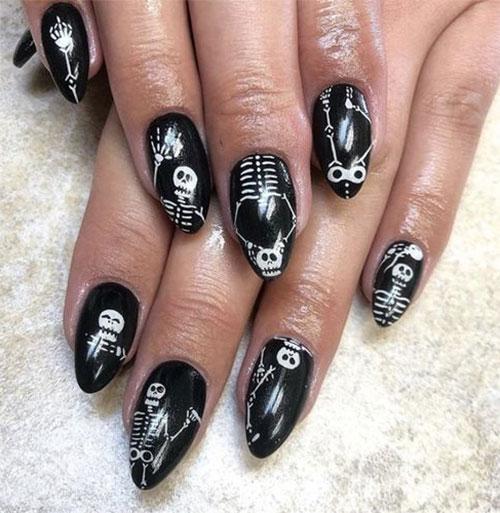 Halloween-Skull-Skeleton-Nail-Art-Ideas-2021-1