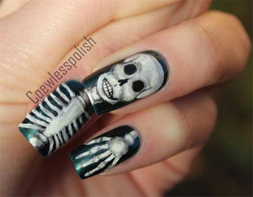 Halloween-Skull-Skeleton-Nail-Art-Ideas-2021-15