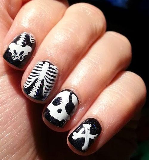 Halloween-Skull-Skeleton-Nail-Art-Ideas-2021-6