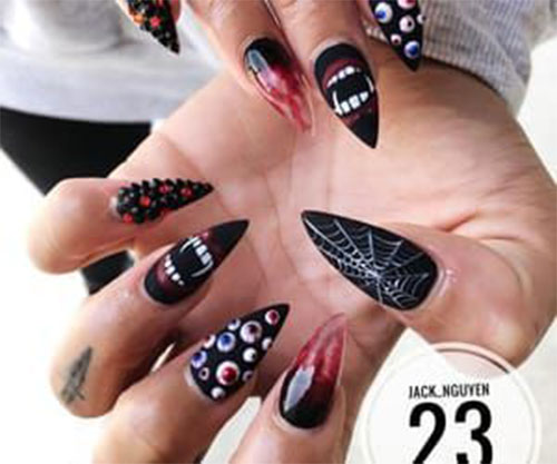 Scary-Halloween-Nail-Art-Designs-2021-Horror-Movie-Nails-5