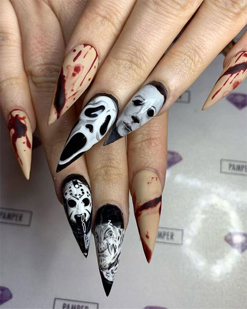 Scary-Halloween-Nail-Art-Designs-2021-Horror-Movie-Nails-6