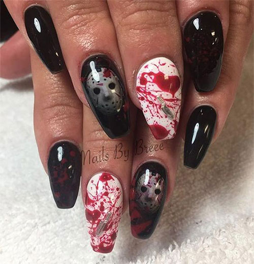 Scary-Halloween-Nail-Art-Designs-2021-Horror-Movie-Nails-7