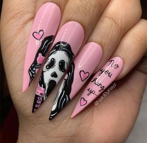 Scary-Halloween-Nail-Art-Designs-2021-Horror-Movie-Nails-8