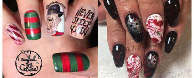 Scary-Halloween-Nail-Art-Designs-2021-Horror-Movie-Nails-F