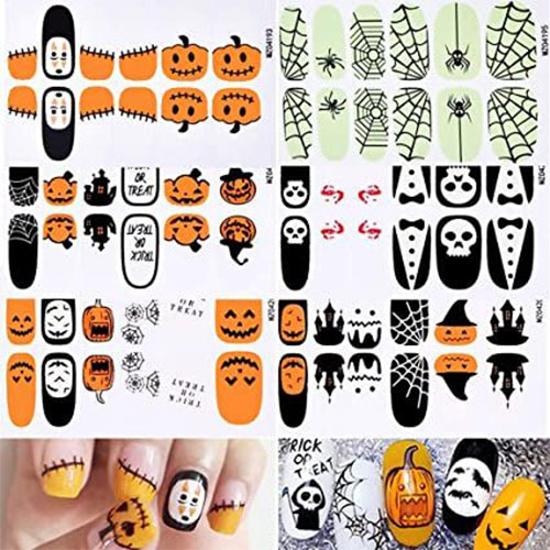 Spooky-Cute-Halloween-Nail-Decals-Stickers-2021-1