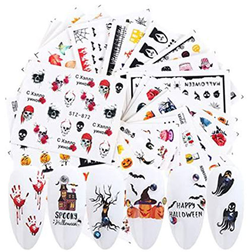 Spooky-Cute-Halloween-Nail-Decals-Stickers-2021-3