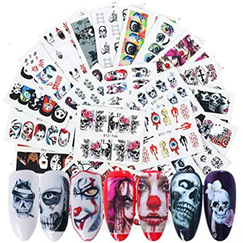 Spooky-Cute-Halloween-Nail-Decals-Stickers-2021-4
