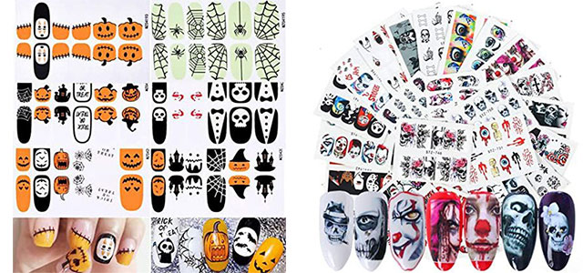 Spooky-Cute-Halloween-Nail-Decals-Stickers-2021-F