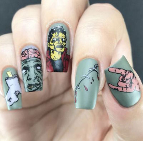 Zombie-Nail-Art-Designs-2021-The-Walking-Dead-Inspired-Nail-Art-1
