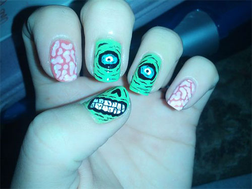 Zombie-Nail-Art-Designs-2021-The-Walking-Dead-Inspired-Nail-Art-10