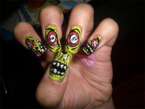 Zombie-Nail-Art-Designs-2021-The-Walking-Dead-Inspired-Nail-Art-12