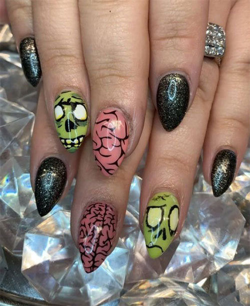 Zombie-Nail-Art-Designs-2021-The-Walking-Dead-Inspired-Nail-Art-13