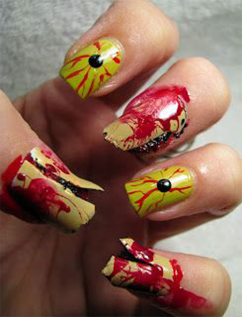Zombie-Nail-Art-Designs-2021-The-Walking-Dead-Inspired-Nail-Art-14