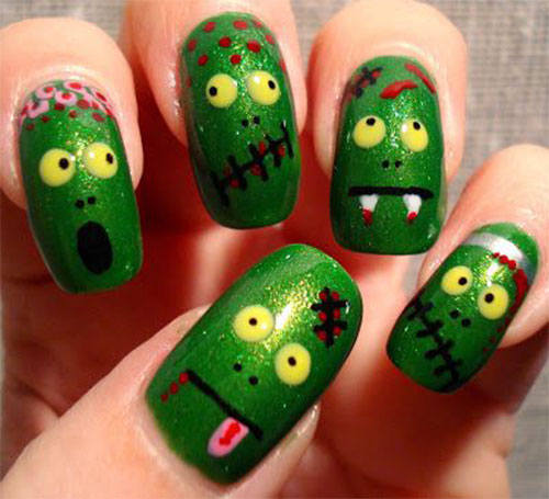 Zombie-Nail-Art-Designs-2021-The-Walking-Dead-Inspired-Nail-Art-4