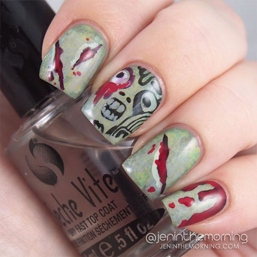 Zombie-Nail-Art-Designs-2021-The-Walking-Dead-Inspired-Nail-Art-7