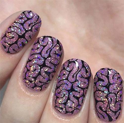 Zombie-Nail-Art-Designs-2021-The-Walking-Dead-Inspired-Nail-Art-9