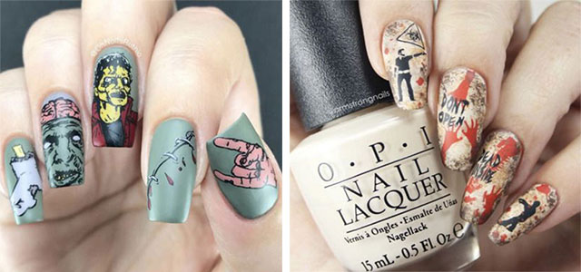 Zombie-Nail-Art-Designs-2021-The-Walking-Dead-Inspired-Nail-Art-F